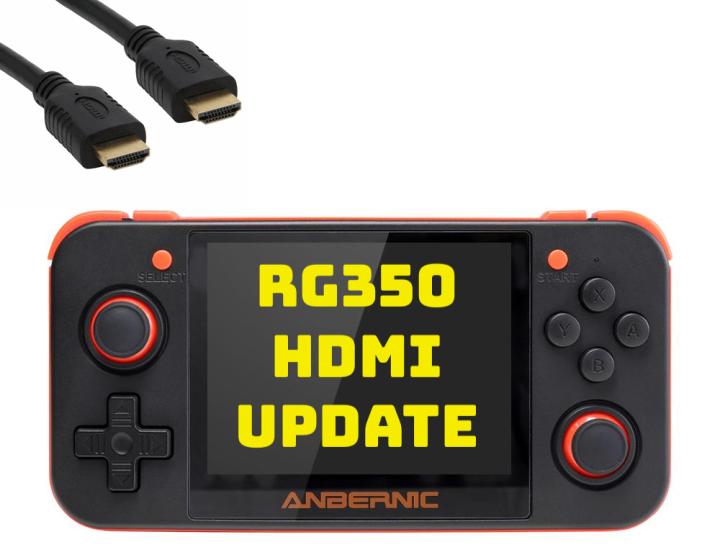 Guide: RG350 HDMIUpdate
