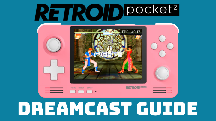 Guide: Sega Dreamcast on the Retroid Pocket 2