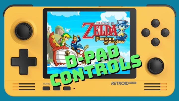 Guide: Enable D-Pad controls on the Legend of Zelda Nintendo DSgames