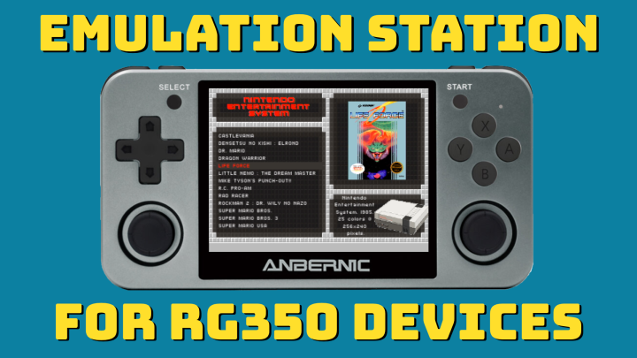 Guide: EmulationStation on RG350 devices
