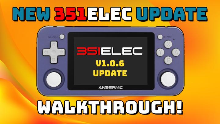 351ELEC v1.0.6 FirmwareUpdate