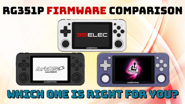 RG351P Firmware ComparisonGuide