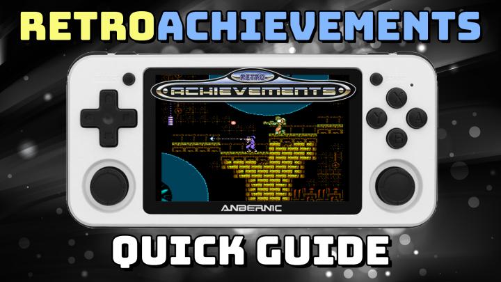 Guide: RetroAchievements on Retro HandheldDevices