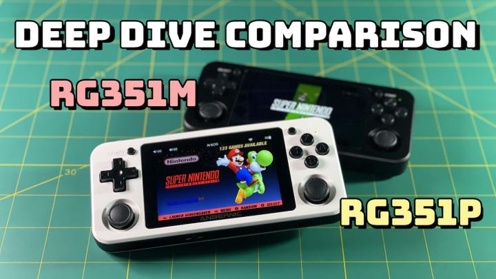 Deep Dive Comparison: RG351M vsRG351P