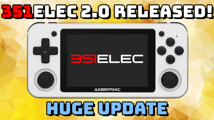 "351ELEC 2.0 Released: The Ultimate ""Plug and Play"" Firmware for RG351 Devices"