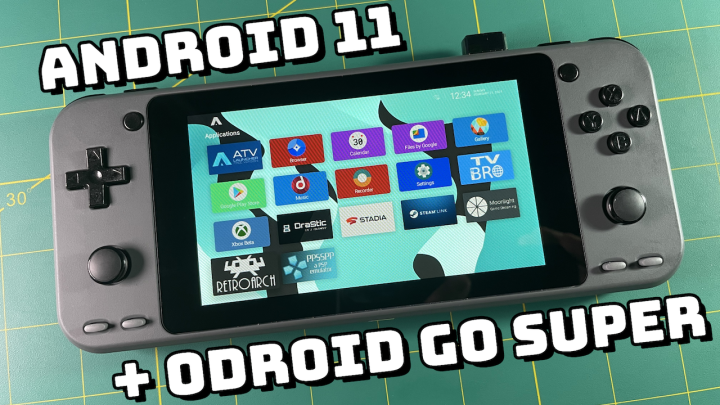 LineageOS (Android 11) on ODROID Go Super