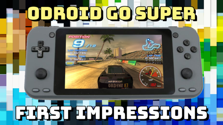 ODROID Go Super: Unboxing and First Impressions