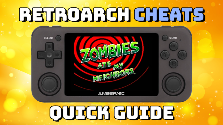 Guide: RetroArch Cheats on Handheld Devices