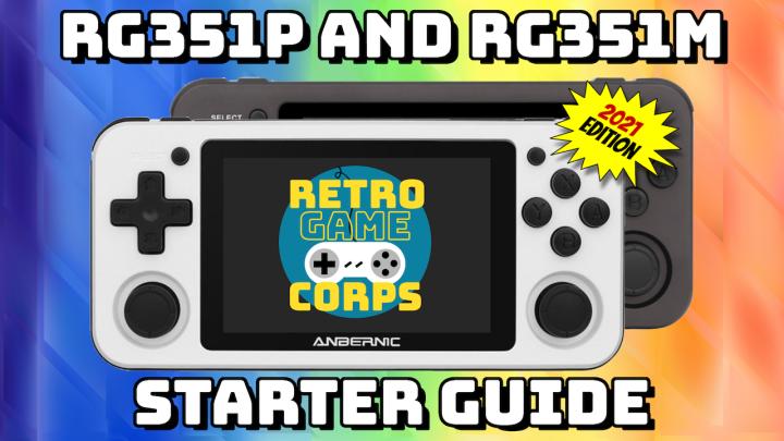 RG351P & RG351M Starter Guide (2021edition)