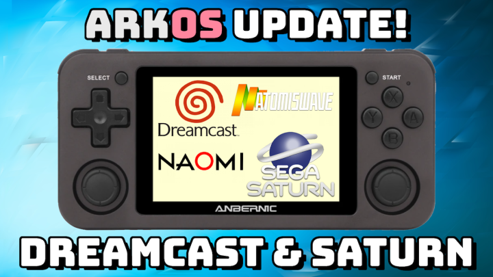 New ArkOS Update: Dreamcast/Saturn Improvement for RG351Devices!