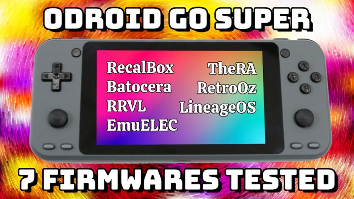 Showcase: ODROID Go SuperFirmwares
