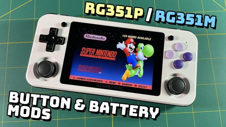 RG351P & RG351M HardwareMods