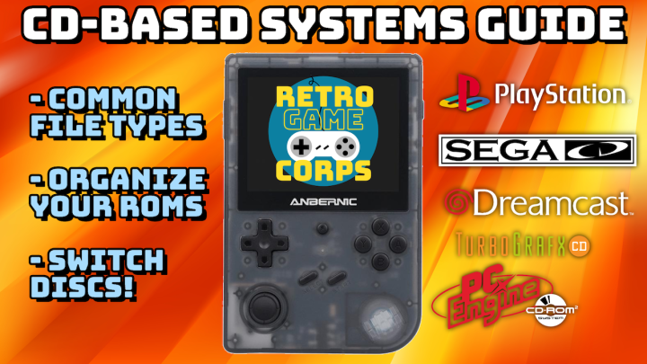Guide: CD-Based Systems on RetroHandhelds
