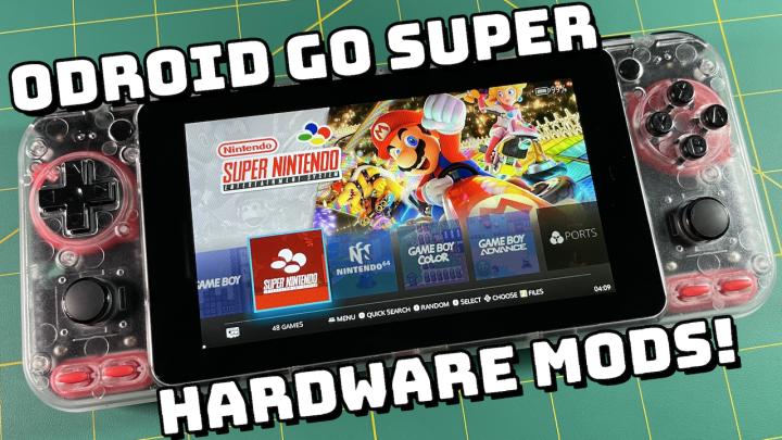 ODROID Go Super HardwareMods