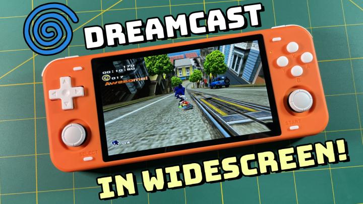 Guide: Widescreen Dreamcast on RetroHandhelds