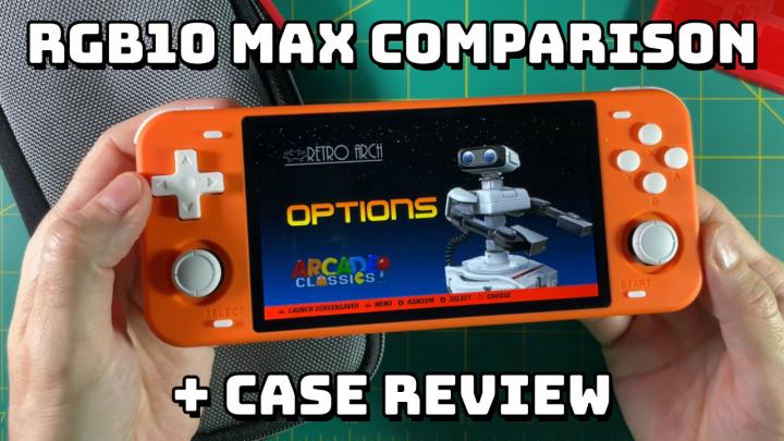 RGB10 Max Color Comparison (Orange vs Black) + CaseReview
