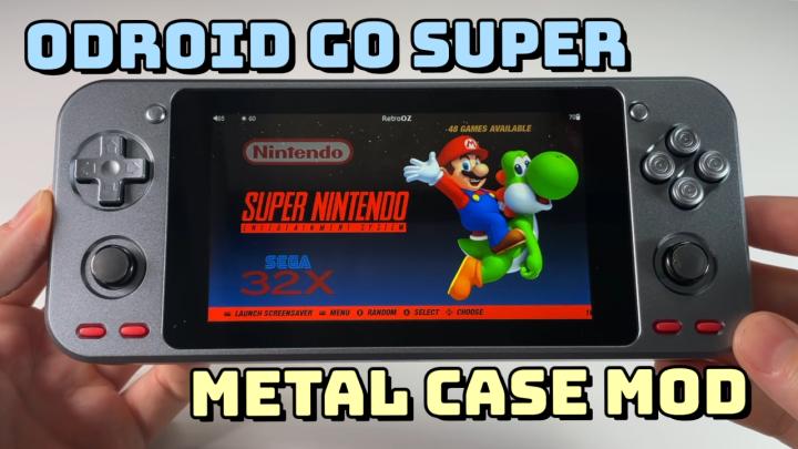 ODROID Go Super Metal Case Review +Guide