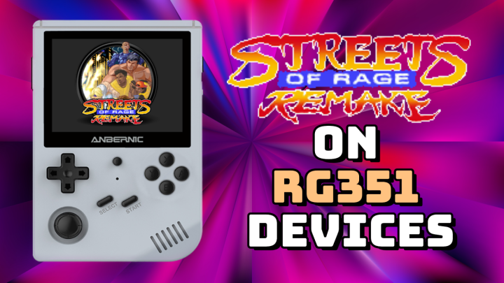 Guide: Streets of Rage Remix on RG351Devices