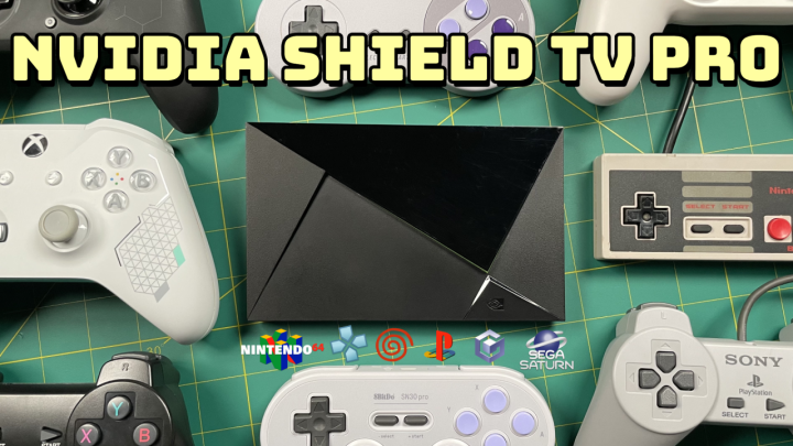 NVIDIA Shield TV Pro as an EmulationConsole