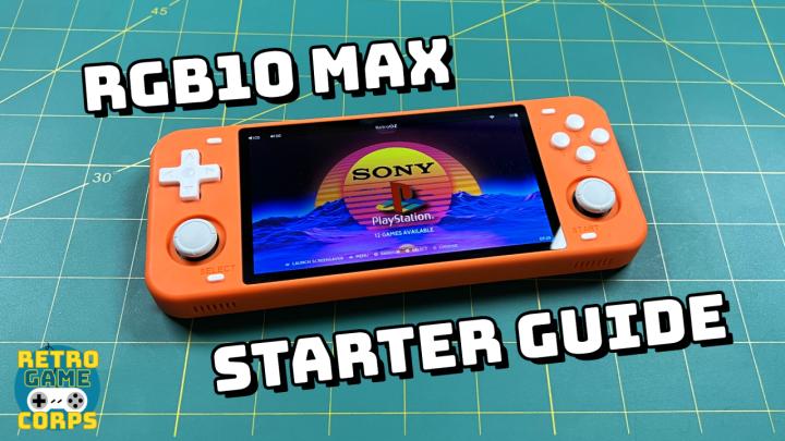 PowKiddy RGB10 Max StarterGuide